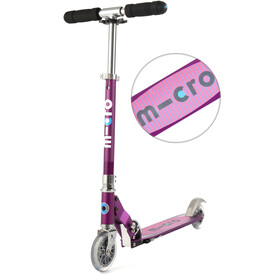 Micro Sprite Scooter purple stripe